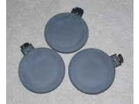 3x Roland V Drums PD-8A TOM or expand electronic trigger set perc pads CHEAP!