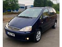 2004 FORD GALAXY 1.9 TDI GHIA 130 6 SPEED (7 SEATER) FULLY LOADED **TOP SPEC**