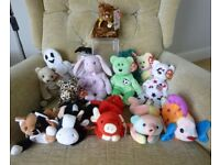 ty Beanie Babies & Bears - retired - Great presents! Sheets the Ghost, Floppity, Kicks + lots more