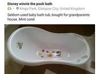 Disney Winnie the pooh baby bath