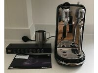 Nespresso Creatista Coffee Machine by Sage, Liquorice Black, New in Box