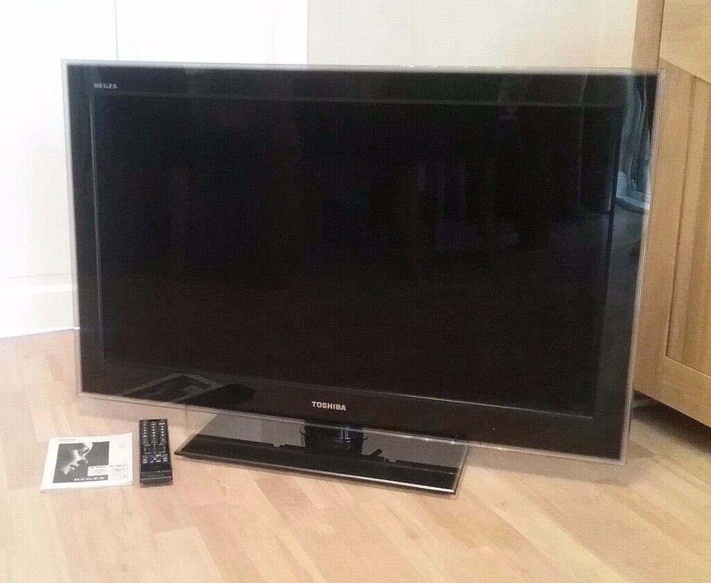 toshiba regza tv 40 inch screen with remote lcd colour tv model 40sl753 in droylsden. Black Bedroom Furniture Sets. Home Design Ideas