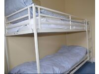 Bunk bed with FREE mattresses and bedlinen set for sale
