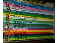 DISNEY BOOK COLLECTION OF 21 MINT BOOKS.