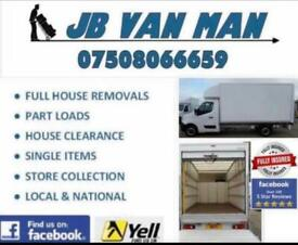 Van Man Services - Large Luton Van & Tail Lift Two Man Team