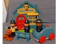 Happyland police station.