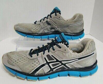 Asics Mens Size 12 GEL-BLUR33 T1H3N Running Shoes Sneakers Tennis Walking (Asics Gel Blur 33 Mens Running Shoe)