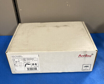 Ambu 408400000 Auragain Single Use Laryngeal Mask Size 4 - Qty 10