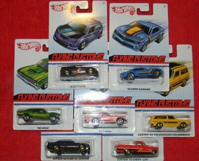 HOT WHEELS 2020: FLYING CUSTOMS**TARGET EXCLUSIVE***LOT OF 7