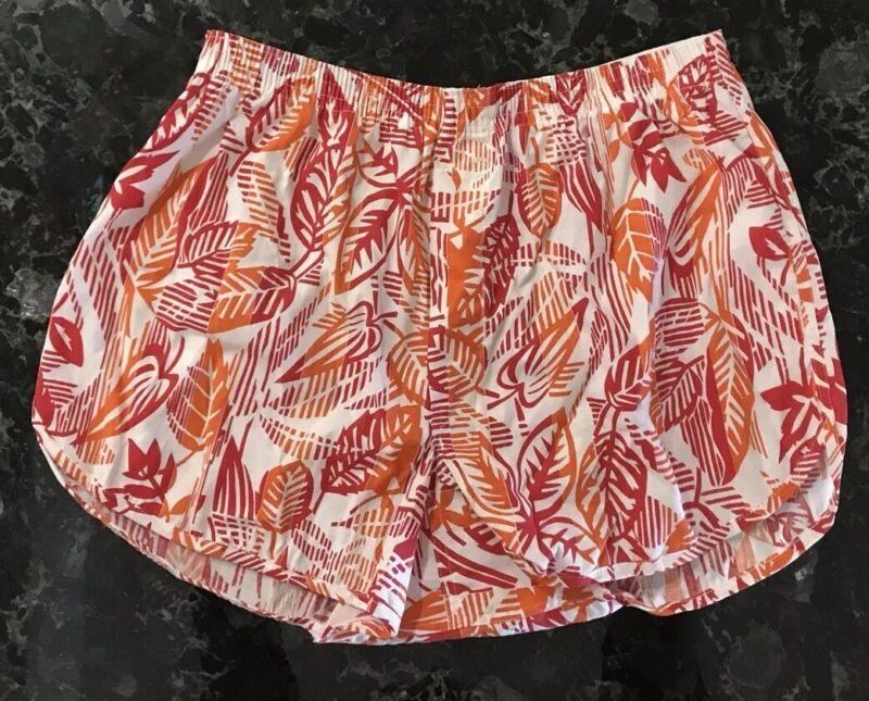 Vintage 70s Jockey Boxer Shorts NOS Tropical Cotton Gym Shorts Hi Leg Sz 36 USA