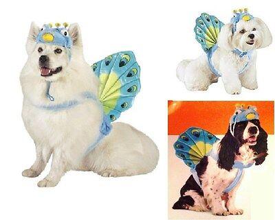Pfau Hund Kostüm Klein Mittel Groß Haustier Vogel - Großer Hund Kleiner Hund Kostüme