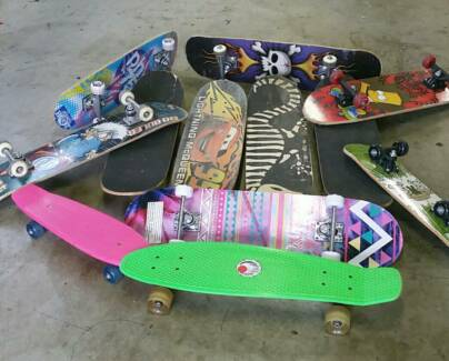 Skate Boards. PRICES START from  $5