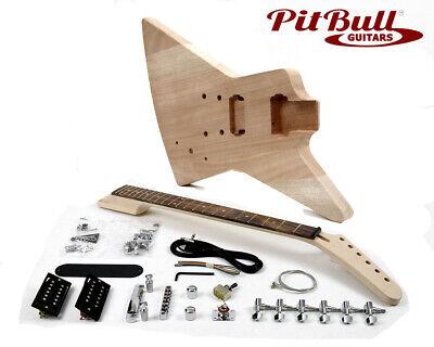 Pit Bull Guitars EXM-1 Electric Guitar Kit (Mahogany)