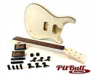 Pit Bull Guitars PRS-1Q Electric Guitar Kit – Quilted Maple