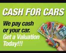 CASH FOR YOUR CARS! $ $ $ Campbelltown Campbelltown Area Preview