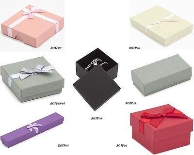 Luxury Jewellery Boxes (Ring~Bracelet~Bangle~Watch~Pendant~Earrings~Necklace)