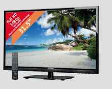 """MEDION 80CM 31.5"""" FULL HD DIRECT LED LCD TV 1080P Docklands Melbourne City Preview"""
