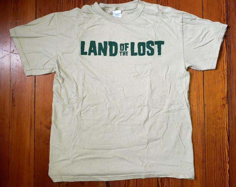 RARE 2009 LAND OF THE LOST MOVIE PROMO SHIRT - WILL FERRELL DANNY MCBRIDE T-REX