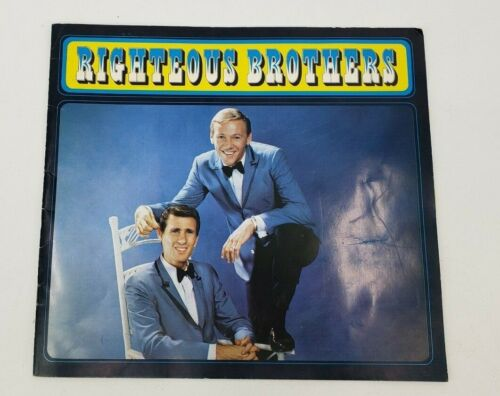 Vintage Righteous Brothers Concert Program 1967 with Ticket Verve Records