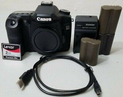Canon EOS 40D 10.1MP Digital SLR DSLR Camera Body *VERY GOOD*