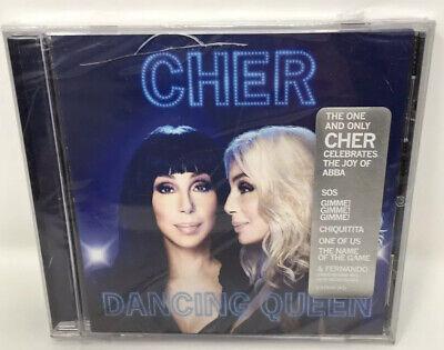 Dancing Queen by Cher  CD -Celebrates Abba (case Broke It In Front)