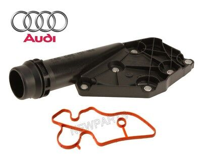 For Audi A4 A5 A6 Q5 A6 05-12 Quattro 3.2L V6 Coolant Flange w/ Seal Genuine