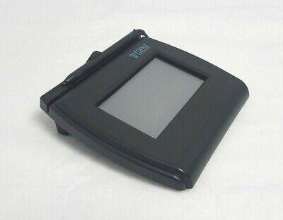 Topaz Siglite Lcd 4x3 Electronic Signature Pad Usbserial T-lbk750-bhsb-r