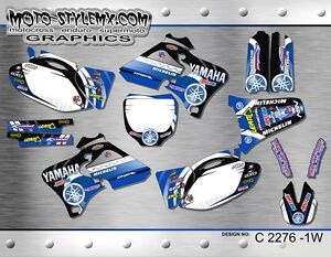 Yamaha YZf 250 400 426 graphics sticker kit '98-'02 ** NO CHINESE SHIT! **