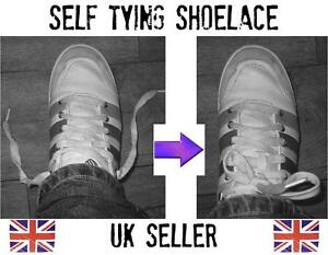 self tying shoelace magic up easy to do