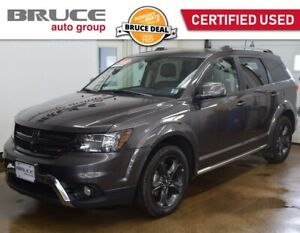 2018 Dodge Journey CROSSROAD - NAVIGATION / AWD / LEATHER INTERI