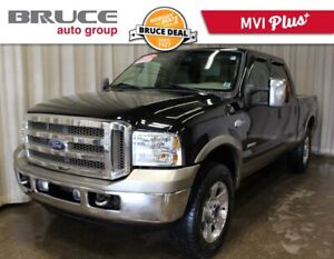 2007 Ford F-250 KING RANCH - LEATHER INTERIOR / 4X4 / SUN ROOF