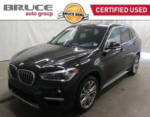 2019 BMW X1 28i - LEATHER INTERIOR / AWD / SUN ROOF