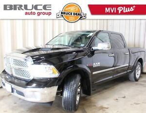 2015 Dodge RAM 1500 LARAMIE - LEATHER INTERIOR / 4X4 / DIESEL