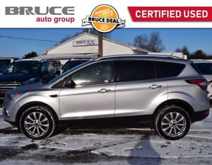 2017 Ford Escape TITANIUM - LEATHER INTERIOR / 4WD / REMOTE STAR