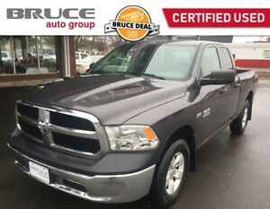 2017 Dodge RAM 1500 SXT - SATELLITE RADIO / 4X4 / SPRAY-IN BEDLI
