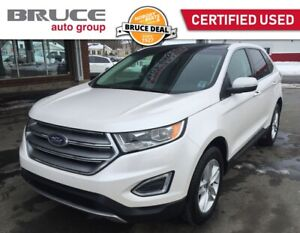 2018 Ford Edge SEL - LEATHER INTERIOR / AWD / NAVIGATION
