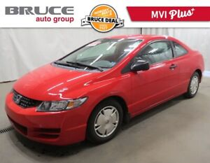 2010 Honda Civic DX-G - COUPE / POWER PKG / KEYLESS ENTRY