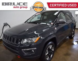 2018 Jeep Compass TRAILHAWK - NAVIGATION / 4X4 / LEATHER INTERIO