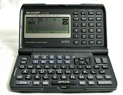 Sharp YO-400 Electronic Organizer - Tested and Working - Nice Shape - Rare