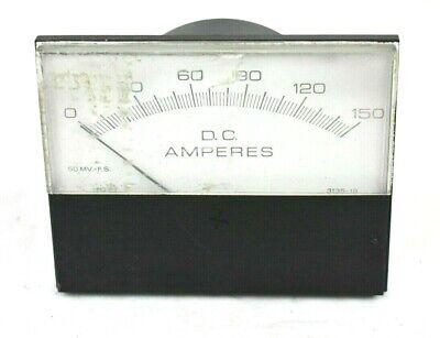 Hoyt 0-150 Dc Amperes Meter Gauge 3135-19
