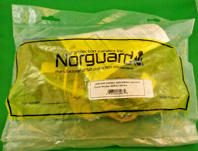Norguard Single Leg 4 Fall Protection Internal Shock Absorbing Lanyard