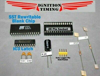 Honda OBD1 ECU Full Socket Kit + SST Rewritable Chip P28 P30 P72 P08 P05 P06 P75