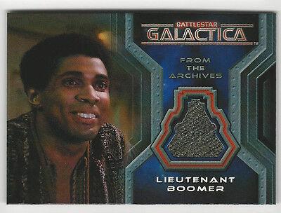 Herbert Jefferson Boomer Battlestar Galactica Colonial Warriors Costume Card CC4