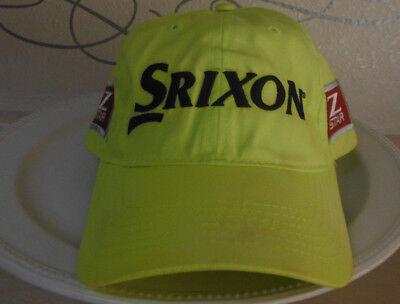 7e51e4e4a65 SRIXON  Z STAR  YELLOW BLACK RED  TOUR YELLOW  ADJ. GOLF HAT