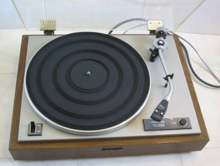 Turntable Vintage Vintage Pioneer Turntable High