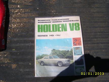 V8 hq workshop manual