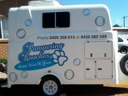 'Pampering Pooches' Mobile Wash N Groom.