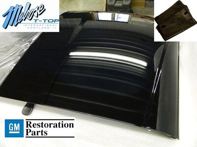 2005-2013 Corvette C6 Removable Transparent Roof Panel With Bag 12499572 Tinted Corvette Roof Panels