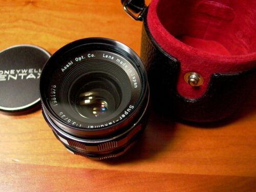 Pentax Super-Takumar 35mm f3.5 M42- MINT