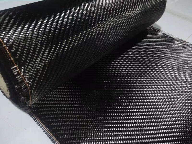 "Real High-Quality Carbon Fiber Cloth Carbon Fabric Twill 200gsm 14.2""/36cm width"